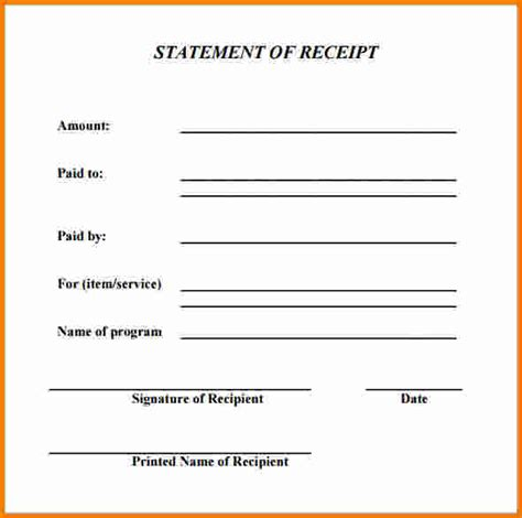 generic rent receipt template 7 generic receipt expense report