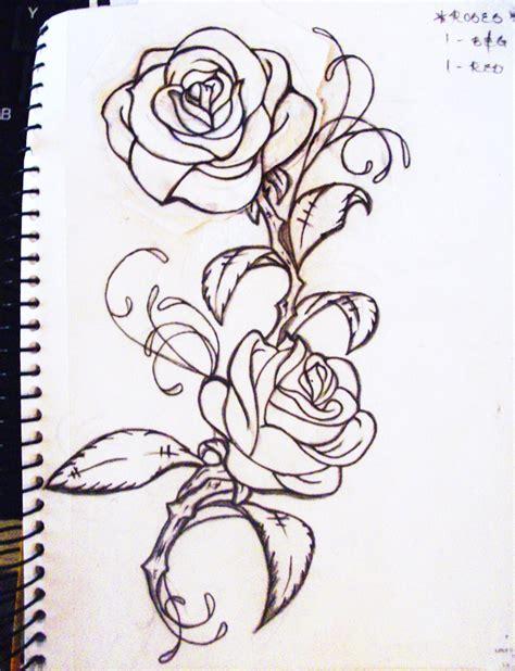 rose tattoo ideas pinterest rose vine drawing designs rose tattoo illustration