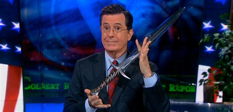 colbert report book lol the stephen colbert tolkien trivia challenge