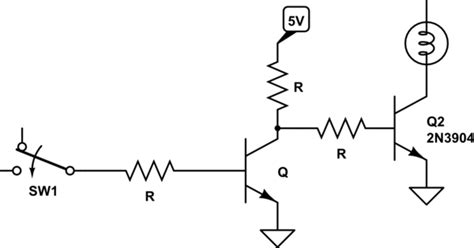 npn transistor ground switch make npn transistor ground when low 5v when high electrical engineering stack exchange