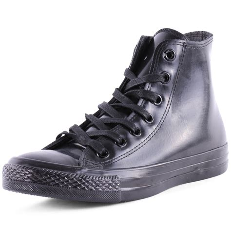 Converse Rubber X X converse chuck rubber hi unisex trainers black