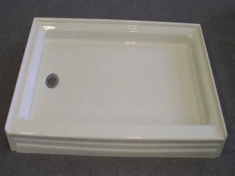 Bathroom Shower Pans Bathroom Remodeling Great Fiberglass Shower Pan Ideas For Applying Fiberglass Shower Pan For