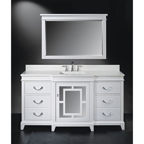 luxe wallingford 66 quot single bathroom vanity high gloss