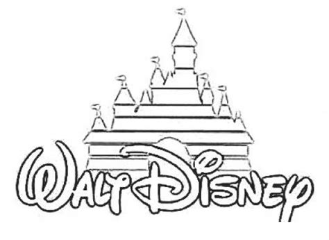 disney logo coloring page cholo coloring pages