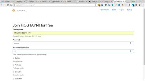 creating django user python creating django users with just an email and
