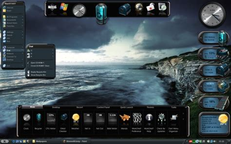 pc themes maker software free download winstep desktop themes