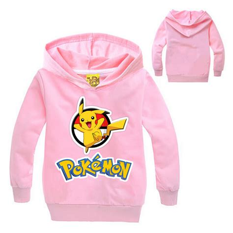 Hoodie Go Pikachu Mistykingkonveksi go clothes boys hoodies and sweatshirts pikachu hoodie baby