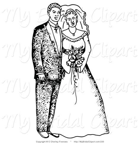 Wedding Black And White Clipart by Wedding Clipart In Black And White 101 Clip