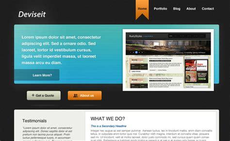 design a website layout in photoshop portfolia 1stwebdesigner psd tutorials