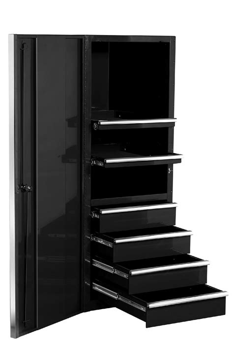 "Extreme Tools 24"" 4 Drawer/2 Shelf Professional Side"
