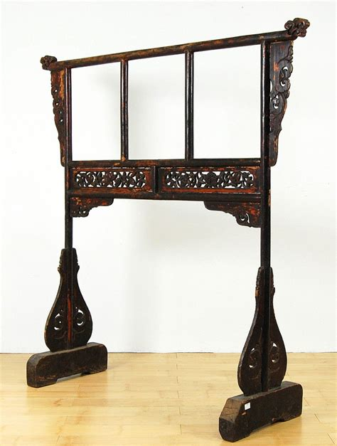 Quilt Display Stands by Antique Wood Towel Stand Quilt Rack Bath Holder Display Ebay