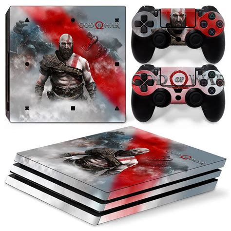 Ps4 Sticker God Of War by Ps4 Pro Playstation 4 Console Skin Decal Sticker God Of