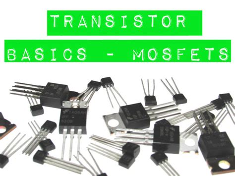 replace transistor with mosfet transistor basics mosfets