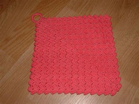 pattern for dishcloth holder 64 best crochet dishclothn and potholders images on