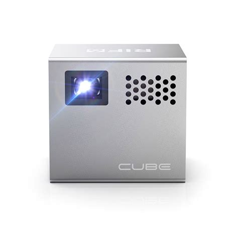 mobile projector cube deal save 16 on the rif6 cube projector technabob