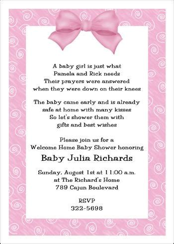 7 Best Welcome Home Baby Shower Images On Pinterest Party Invitations Babyshower And Shower Baby Baby Welcome Invitation Templates