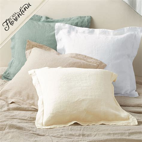 ballard designs pillows washed linen decorative pillow cover and insert european inspired home furnishings ballard