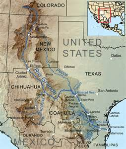 where is pecos on a map pecos river the handbook of state