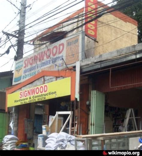 sign wood hardware lumber supply quezon city home