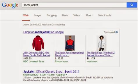 The Search Monitor Apparel Advertisers Search Marketing The Winter