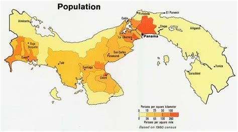 map usa panama culture panama and climate change