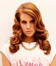 27 piece hairstyle lana lana del ray hair caramel blonde and vintage waves