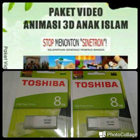 film untuk anak muslim jual flashdisk video film animasi anak muslim 8 gb 200