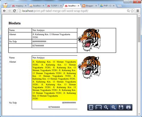 tutorial tcpdf php tutorial pemrograman dan source code android web mobile
