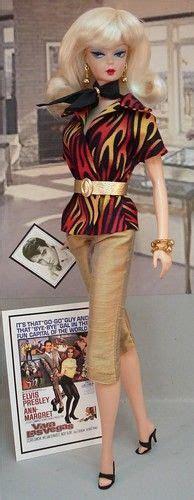 Pop Katun Impor Dress 4450 waiting for elvis inspired doll barbies