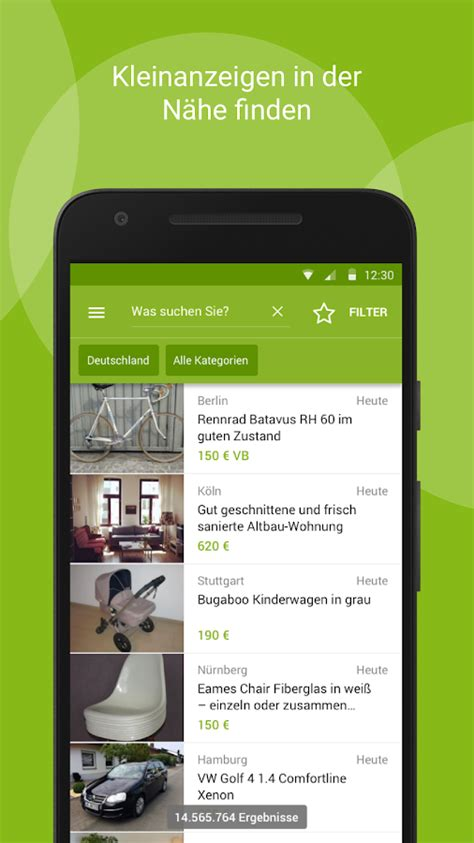 ebay kleinanzeigen len ebay kleinanzeigen aplicaciones de android en play