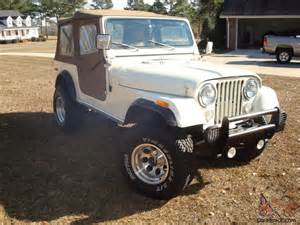 1980 Jeep Cj7 1980 Jeep Cj7 4x4 5 3 Liter V8 Auto