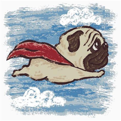 flying pugs quot flying pug quot t shirts hoodies by toru sanogawa redbubble