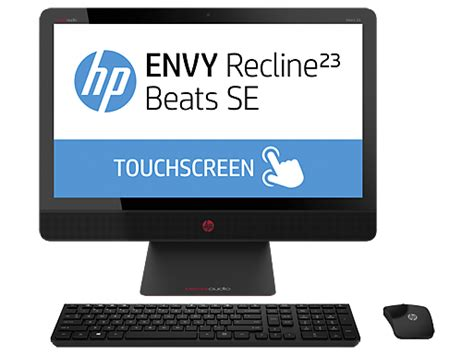 hp envy recline 23 touchsmart beats se all in one hp home home office hp 174 official store
