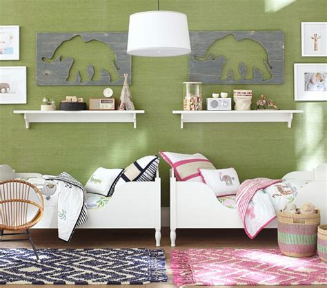 elephant bedroom c shelter toddler bed pottery barn kids