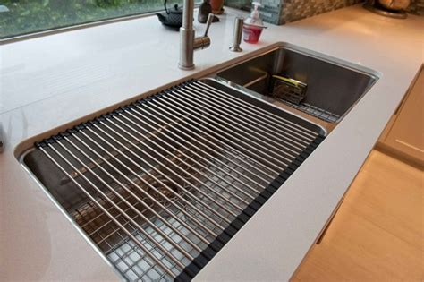 franke kitchen sink accessories franke kubus sink with roller mat one of franke s most