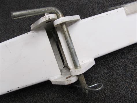 boat trailer swing tongue ss1008 white 53 quot shorelander boat trailer swing tongue ebay