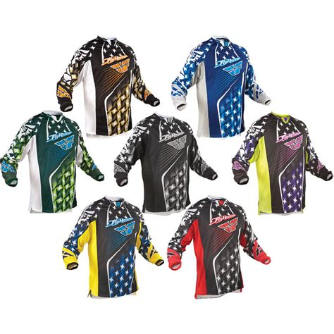 youth motocross jersey fly racing 2011 youth kinetic motocross jersey junior