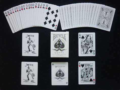 Bicycle White Ghost Bonus Deck ghost cards wiki