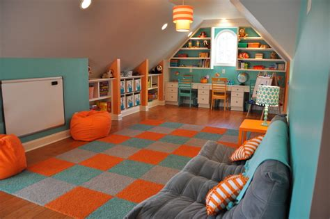 sofa for playroom how to turn the attic into a playroom