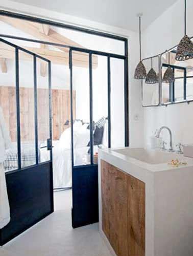 Exceptionnel Plan Chambre Parentale Avec Salle De Bain Et Dressing #4: cloison-verriere-loft-pour-separation-de-suite-parentale.jpg