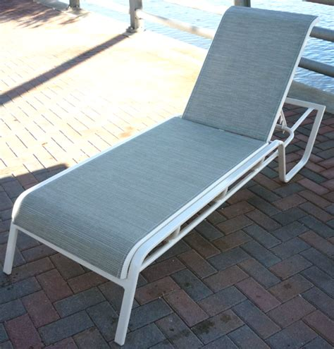 commercial chaise lounge commercial sling chaise lounge i 149 aluminum chaise