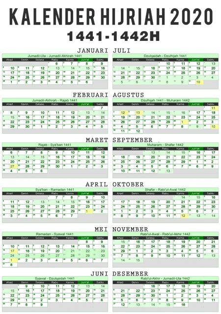 kalender puasa sunnah