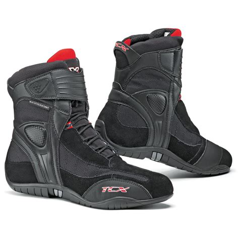 waterproof motorcycle boots tcx x cube short sports casual waterproof paddock