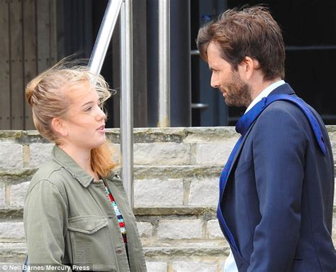 david tennant child broadchurch s david tennant shares moment with his on