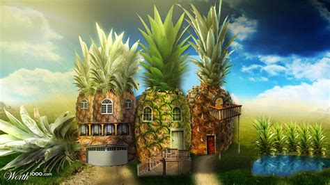 Pineapple House by Pineapple House Worth1000 Contests