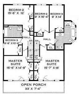 second floor floor plans multi family plan 4285