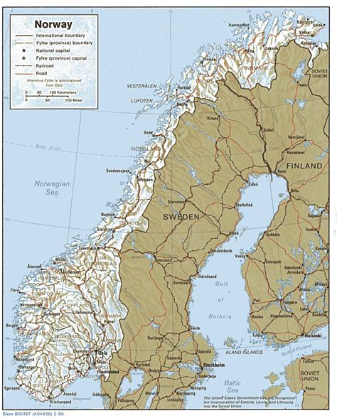 norway europe large detailed relief and political map of norway with highways and cities vidiani com maps