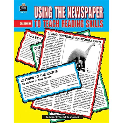 picture books to teach reading skills using the newspaper to teach reading skills tcr0467