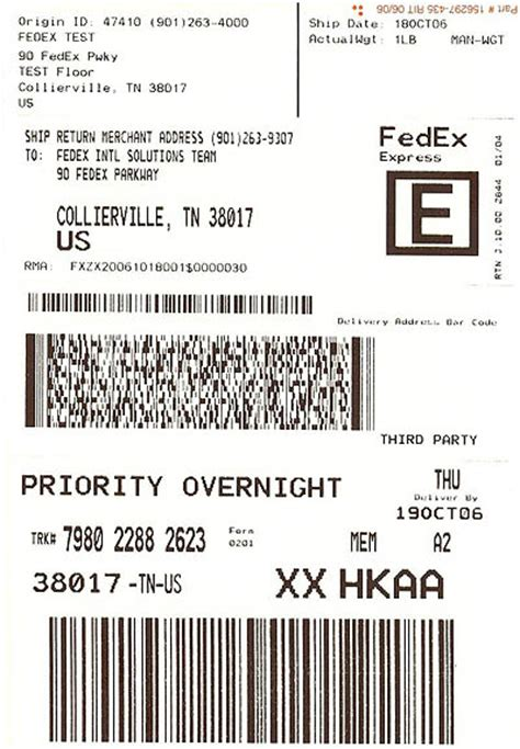 fedex label template word sle address label usps to lower rates and endicia