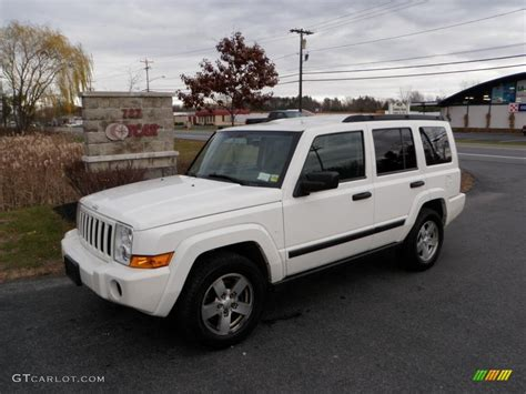 2006 Jeep Commander White 2006 White Jeep Commander 4x4 40134084 Gtcarlot